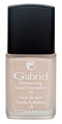 - Gabriel Cosmetics Inc. Moisturizing Liquid Foundation Pale Ivory 18 SPF, 1 Ounce