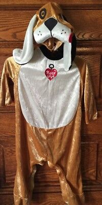 NEW! PUPPY LOVE DOG OUTFIT HALLOWEEN COSTUME, Infant S 12-18 MONTHS, NWOT