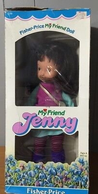 1984 Fisher Price My Friend Jenny # 209 Cloth & Vinyl 15 Inch new In Box