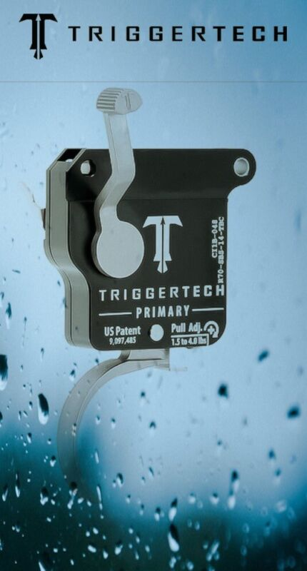 TriggerTech Primary Curved Shoe Remington 700 R70-SBS-14-TBC