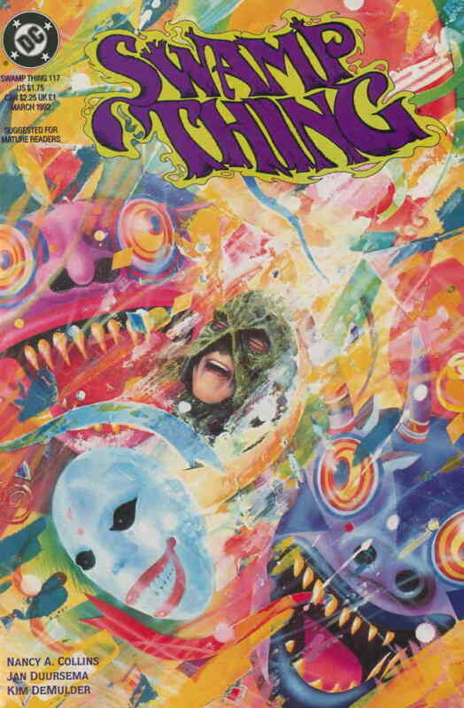Swamp Thing (2nd Series) #117 VF/NM; DC | save on shipping - details inside