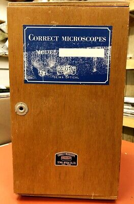 Correct Tokyo Brand Vintage Stereo Microscope W Original Box Lamp