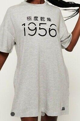 Superdry Oversized T shirt dress size 14