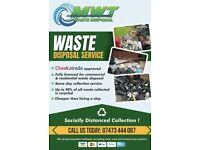 Rubbish removal / waste / man and van / house clearance /