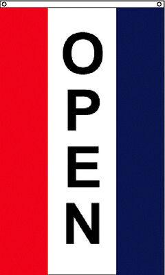 3 X 5 High Quality Nylon Rwb Vertical Open Flag