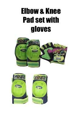New Kids Disney Girls Elena Of Avalor Bicycle Knee Pad And Glove Set