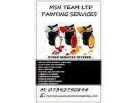 General restoration,repairs,Painting and decorating,flooring,paving,decking,exterior maintenance
