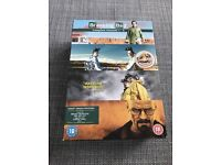 Breaking bad seasons 1-4 region 2 DVD