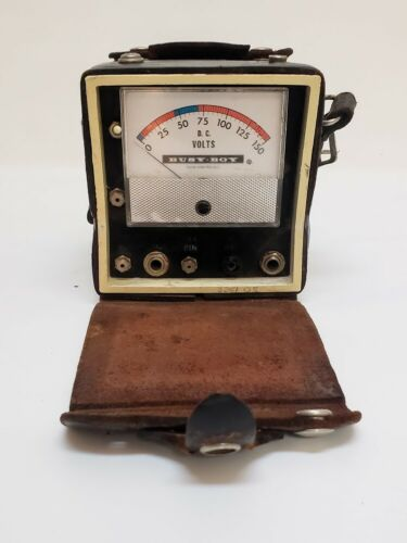 Vintage Telephone Lineman Busy Boy Telephone System Analyzer Meter