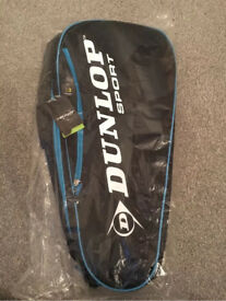 Dunlop Sport Tennis Racket Bag Brand New!