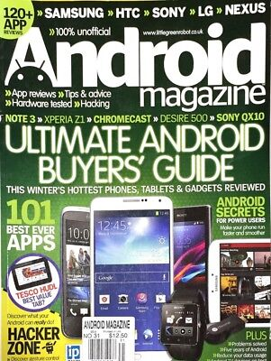 Android Magazine - ANDROID MAGAZINE, ULTIMATE ANDROID BUYERS' GUIDE , ISSUE 40