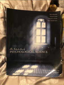 Intro to psychology textbook