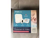 Angelcare AC315 Digital Baby Monitor & Wired Sensor Movement Pad