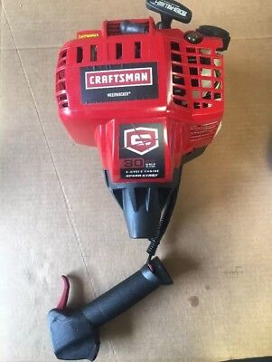 Craftsman 30CC 4-CYCLE Gas Trimmer Weedwacker 73197 NO CARB-ENGINE ASSEMBLY ONLY 4 Cycle Gas Engines