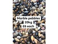 Decorative stones 20kg bags