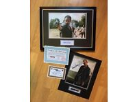 Walking dead signed photos! Andrew Lincoln 120 ONO