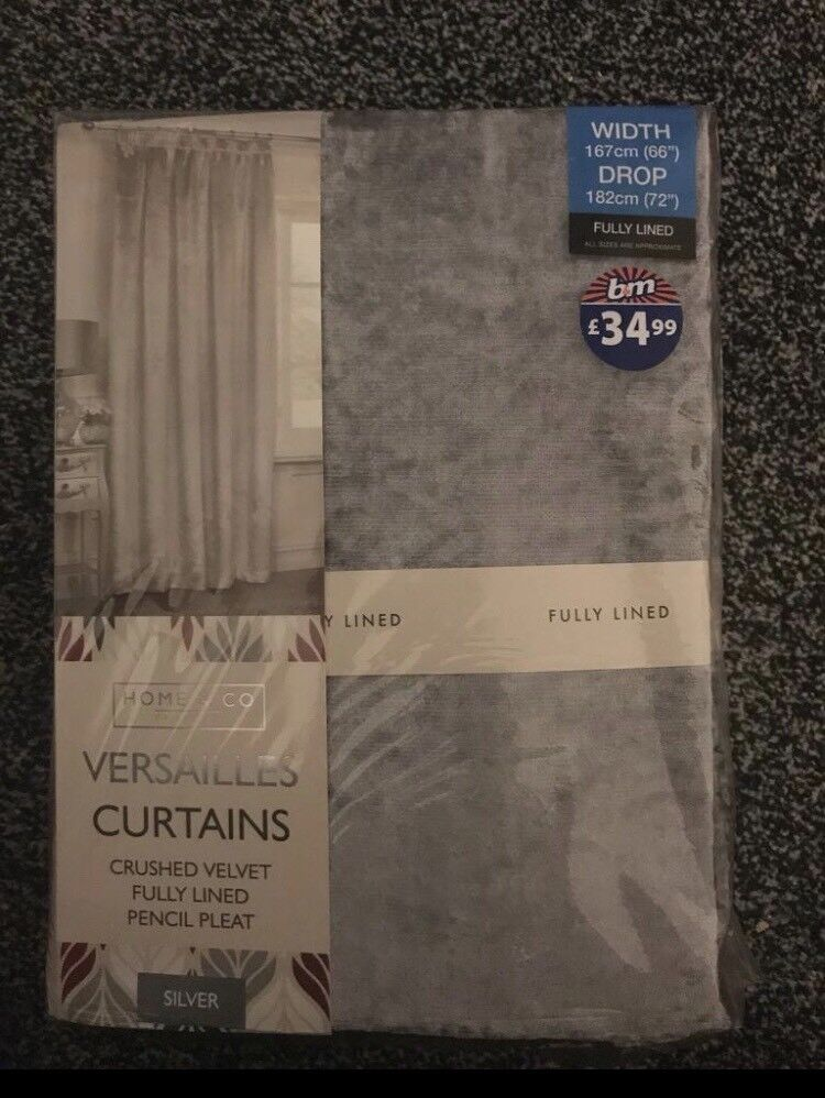 Brand New Curtains Pair In Leicester Leicestershire