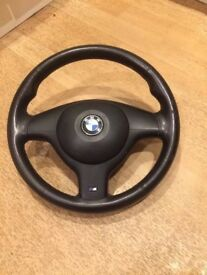 Bmw e46 m sport m3 steering wheel