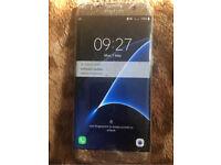 Samsung galaxy S7 edge 32gb gold damaged screen believe to be unlocked