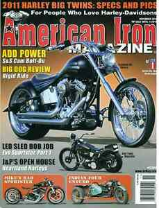 Harley Davidson Deuce Prostreet Custom and American Iron Cover B