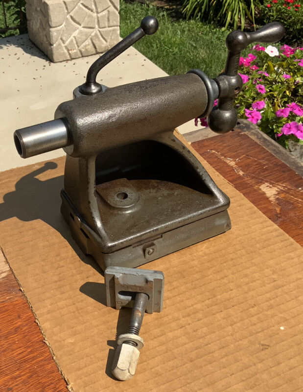 "Delta Milwaukee No. 1460 12"" Lathe Tool Tail Stock & Clamp Part"