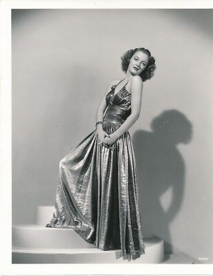 JOY HODGES Original Vintage 1939 RAY JONES GLAMOUR Fashion Portrait Photo