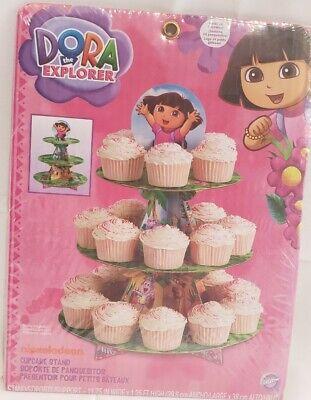Dora the Explorer Cup Cake Stand 3 tier - Holds 24 Cupcakes - Dora Cakes