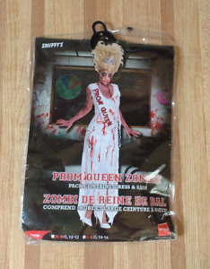 Prom Queen Zombie Costume. Adult Large 14-16