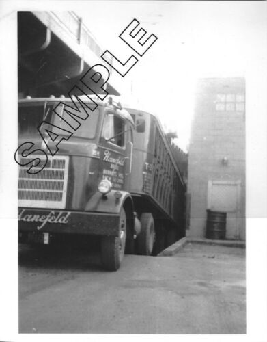 1950s MACK Model H-63T HANEFELD BROS, Burnett, WI 8x10 B&W Glossy Photo