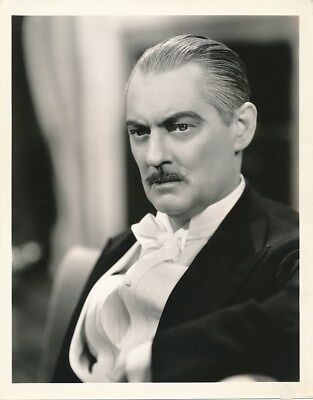 LIONEL BARRYMORE Original Vintage 1937 CLARENCE BULL MGM DBW Portrait Photo