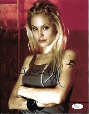 Angelina Jolie Gone In 60 Seconds Autographed Signed 8X10 Photo Jsa Coa  1