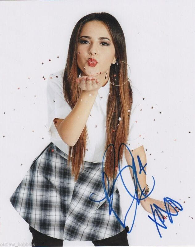 Becky G Power Rangers Autographed Signed 8x10 Photo COA #2