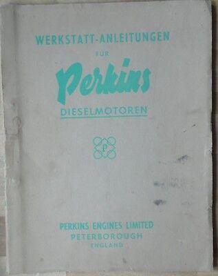 Perkins Motoren Werksatt Anleitung 270 D