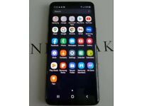 SAMSUNG S9 DUAL SIM 64gb UNLOCKED MIDNIGHT BLACK UNUSED PRISTINE.