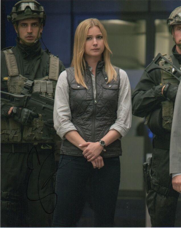 Emily VanCamp Captain America Autographed Signed 8x10 Photo COA  #7