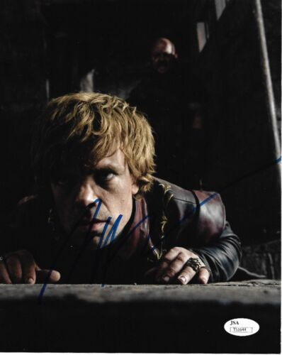 Peter Dinklage Game of Thrones Autographed Signed 8x10 Photo JSA COA #5