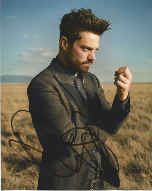 Dominic Cooper Preacher Autographed Signed 8x10 Photo COA #6