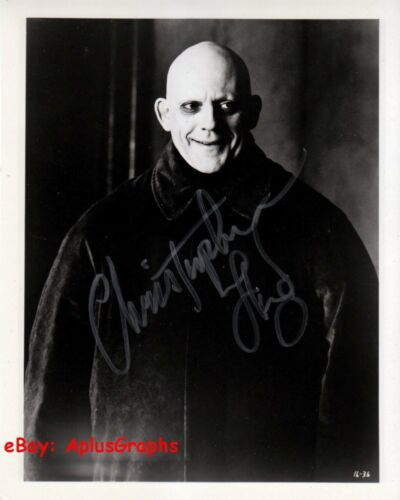 CHRISTOPHER LLOYD.. The Addams Family - SIGNED