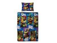 Teenage Mutant Ninja Turtles Dudes Single Duvet Set
