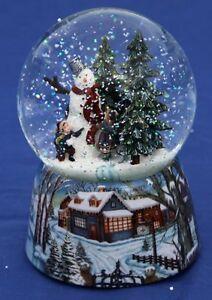 Musical Snow globe - Snowman