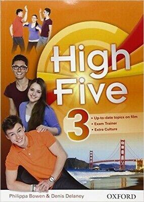 9780194603935 HIGH FIVE 3 STUDENT'S BOOK+WORKBOOK+EXTRA BOOK+EXAM TRAINER USATO