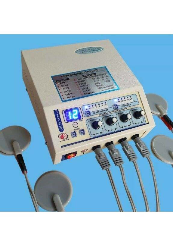 Prof. Home 4 Channel Electrotherapy Physical Pain Relief Electotherapy Machine