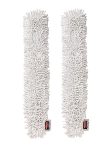 2 HYGEN Hi-Performance Microfiber Flexi Wand Dusting Sleeve Refill Q853 White