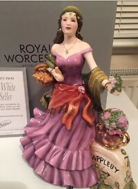 Royal Worcester Figurine Lucky Heather New in box