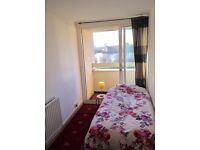 ***smokers welcome** FURNISHED SINGLE ROOM AVAILABLE WITH BALCONY ONLY 135PW