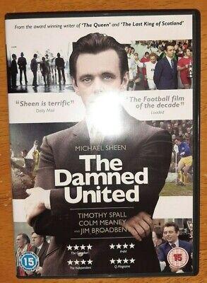 The Damned United DVD (2014) Michael Sheen, Hooper (DIR) cert 15