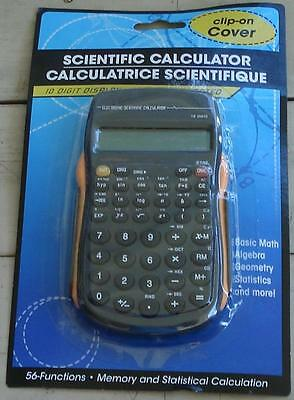 NEW IN PACKAGE Battery Operated Hand Held Scientific Calculator, Yellow Accent
