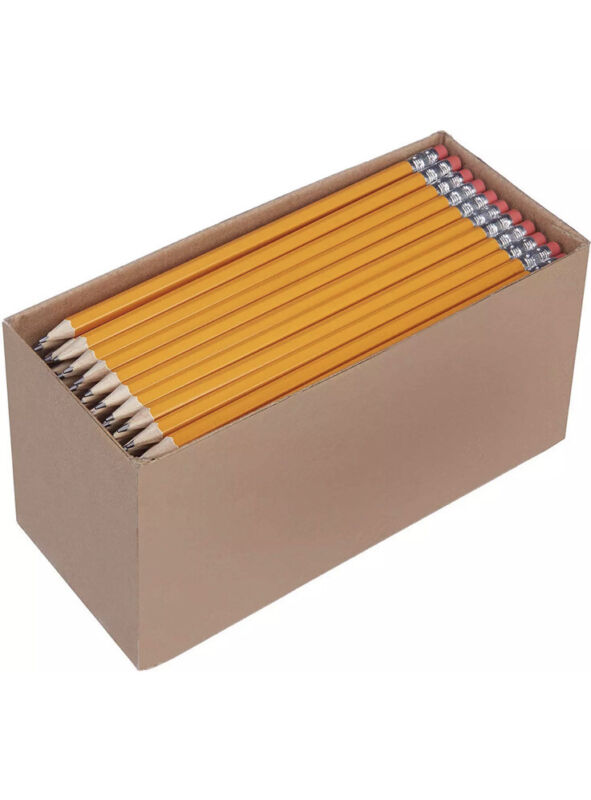 Bulk (Lot Of 156) Yellow #2 Pencils. Great For School, Home, Or Office SHARPENED