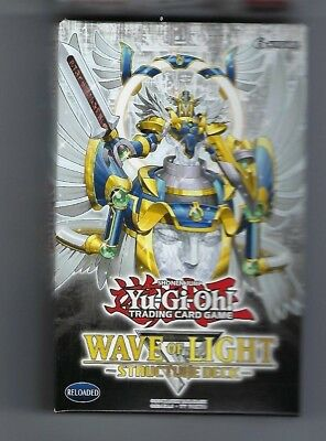 YuGiOh Wave of Light English Structure Deck 1st Edition box