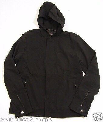 Three Layer Jacket -  Michael Kors Men's Black Three-Layer Short Hooded Jacket $495